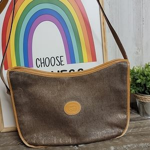 Gucci Vintage Authentic Brown Crossbody Bag